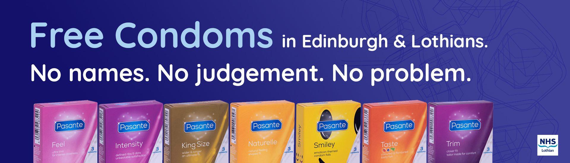 C:Card | Free Condoms  No Names  No Judgement  No Problem